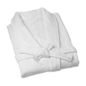 Махровый халат белый унисекс