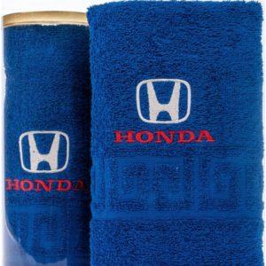 Подарочное полотенце в тубе HONDA