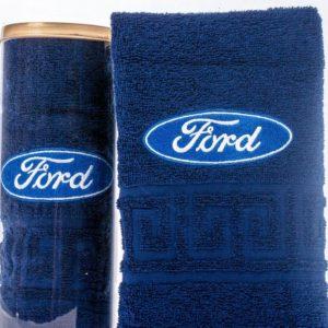 Подарочное полотенце в тубе FORD
