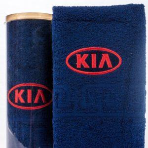 Подарочное полотенце в тубе KIA