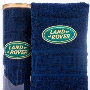 Подарочное полотенце в тубе LAND ROVER
