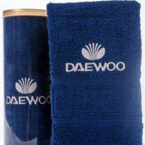 Подарочное полотенце в тубе DAEWOO
