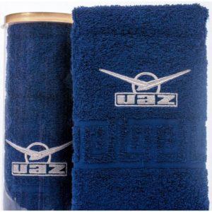 Подарочное полотенце в тубе UAZ