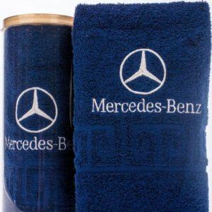 Подарочное полотенце в тубе Mercedes-Benz