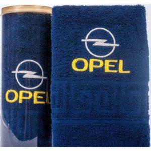 Подарочное полотенце в тубе OPEL