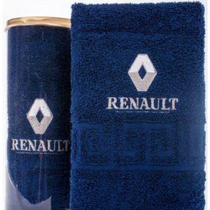Подарочное полотенце в тубе RENAULT