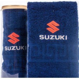 Подарочное полотенце в тубе SUZUKI