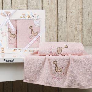 Комплект полотенец «KARNA» детский BAMBINO-GIRAFFE
