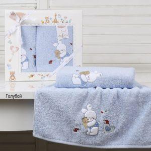 Комплект полотенец «KARNA» детский BAMBINO-BUNNY