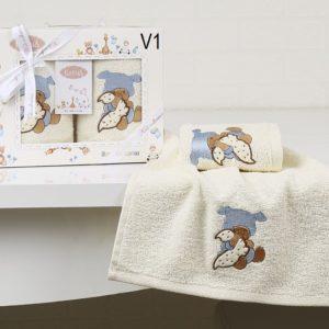 Салфетки детские c вышивкой «KARNA» BAMBINO