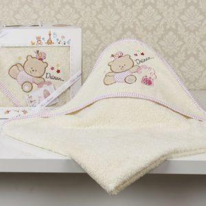 Полотенце-конверт «KARNA» детское BAMBINO-BEAR