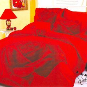 Постельное белье «LE VELE» GULLU RED
