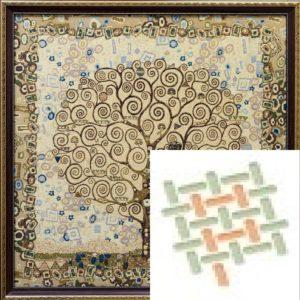 Картина гобеленовая «Дерево жизни Климт»
