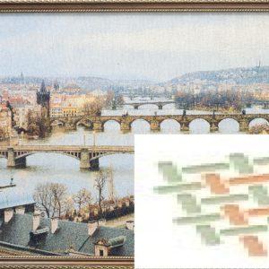 Картина гобеленовая «Прага»