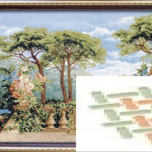 Картина гобеленовая «Эдем»