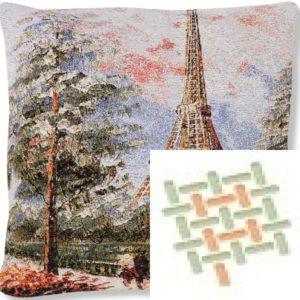 Подушка гобеленовая «Монмарт»