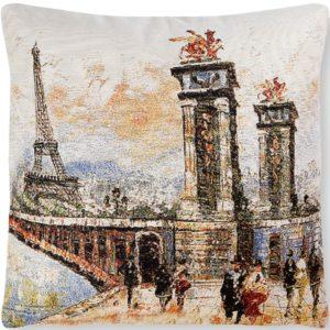Подушка гобеленовая «Мост»