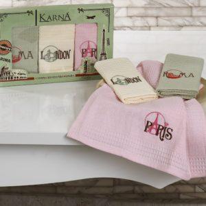 Салфетки вафельные «KARNA» CITY