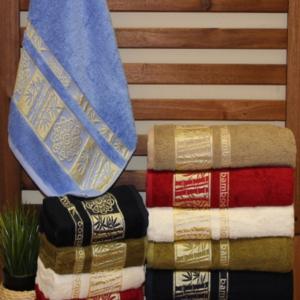 Полотенца бамбуковые «ROSE» SILVER
