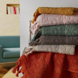Комплект махровых полотенец «KARNA» OTTOMAN жаккард