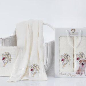 Комплект махровых полотенец «TWO DOLPHINS» LITTLE PUPPY