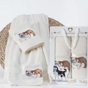 Комплект махровых полотенец «TWO DOLPHINS» LITTLE TEDDY