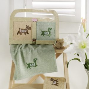 Салфетки бамбуковые собака «KARNA» TOBY