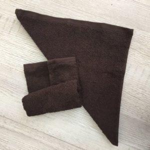Салфетка «Осибори» коричневая