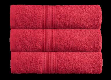 Цветное махровое полотенце 40х70 см.